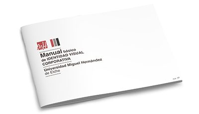 Universidad Miguel Hernández identidad visual corporativa