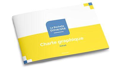 Université de La Rochelle charte graphique