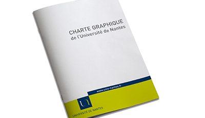 Université de Nantes charte graphique