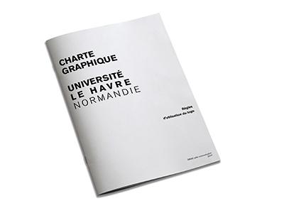 Université du Havre charte graphique