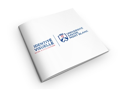 Université Savoie Mont Blanc identité visuelle