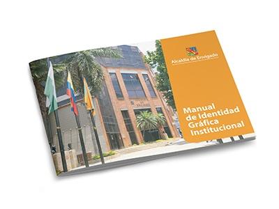 Alcaldía de Envigado identidad gráfica institucional