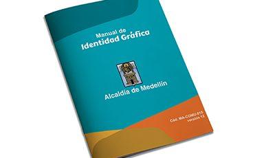 Alcaldía de Medellín identidad gráfica