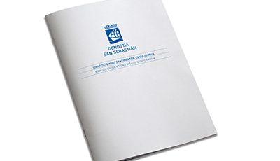 Ayuntamiento de San Sebastián identidad visual corporativa