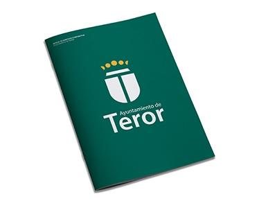 Ayuntamiento de Teror identidad corporativa