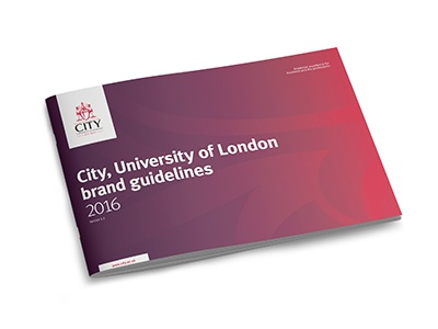 City, University of London brand guidelines