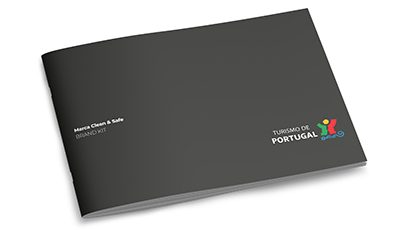 Clean & Safe Turismo de Portugal brand kit