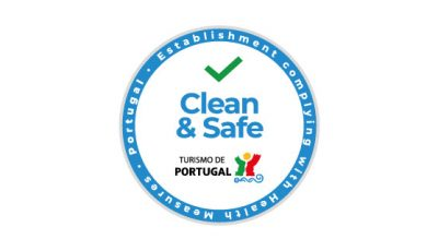 logo vector Clean & Safe Turismo de Portugal