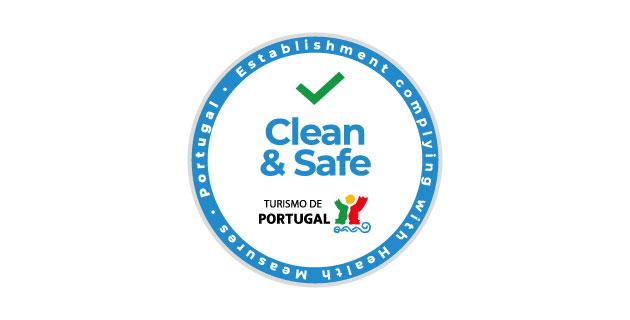 logo vector Clean & Safe Turismo de Portugal