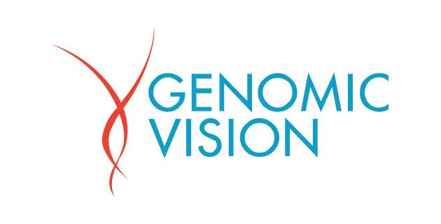 logo vector Genomic Vision