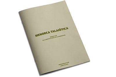 Menorca Talaiòtica identità visual