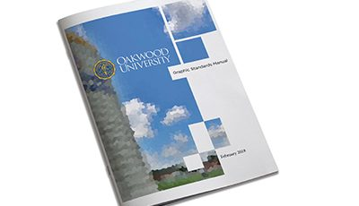Oakwood University graphic standards manual