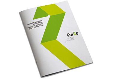 Red de Parques Tecnológicos de Euskadi identidad visual corporativa