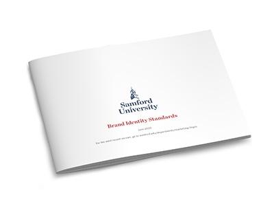 Samford University brand identity standards