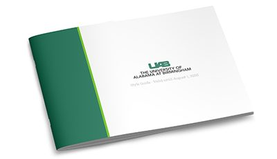 University of Alabama in Birmingham style guide