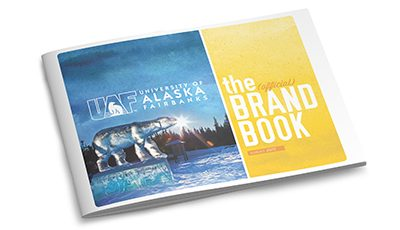 University of Alaska Fairbanks brand book