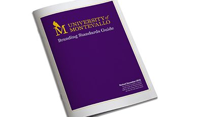 University of Montevallo branding standards guide