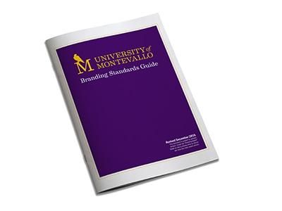 University of Montevallo branding standards guide