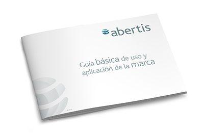 Abertis uso y aplicación de la marca