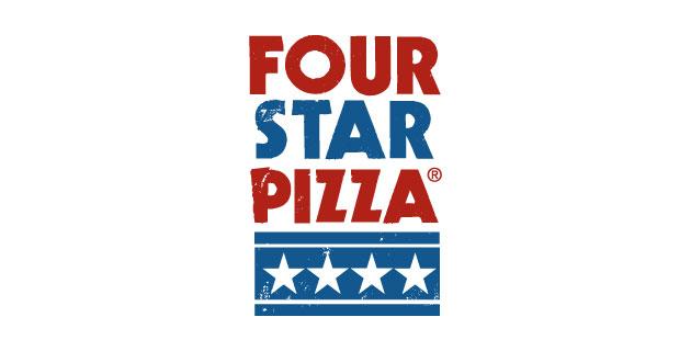 logo vector Four Star Pizza