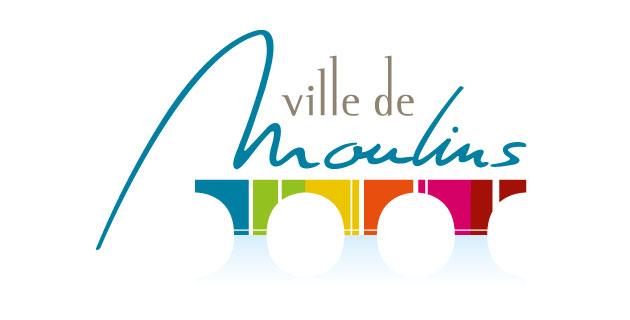 logo vector Ville de Moulins