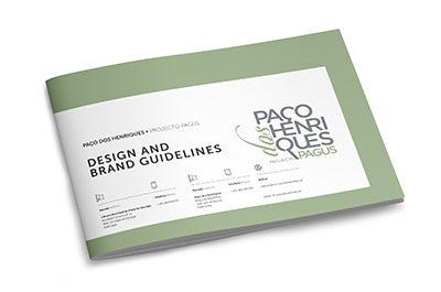 Paço dos Henriques brand guidelines