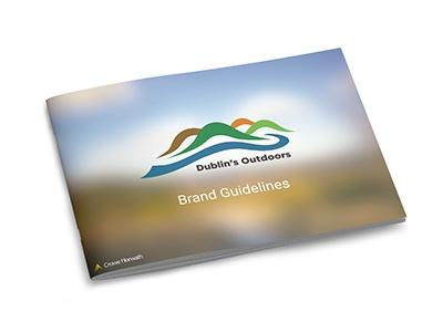 Dublin's Outdoors brand guidelines