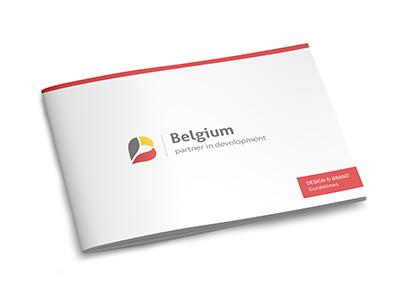Belgium partner in development brand guide