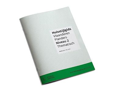 Huisstijlgids Vlaanderen Flanders niveau 2 thematisch