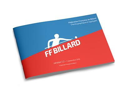 Fédération Française de Billard charte graphique