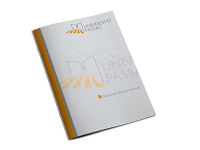 Universität Passau corporate design manual