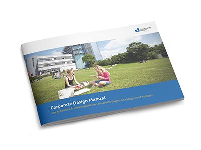 Universität Siegen corporate design manual
