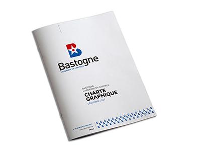 Ville de Bastogne charte graphique
