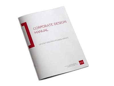 Johannes Gutenberg-Universität Mainz corporate design manual