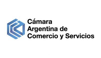 logo vector Cámara Argentina de Comercio y Servicios