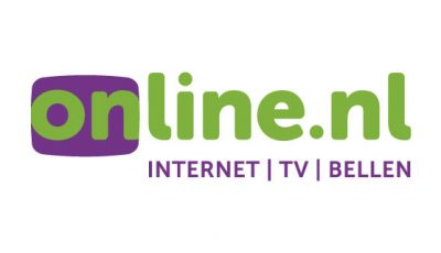 gevectoriseerd logo Online.nl