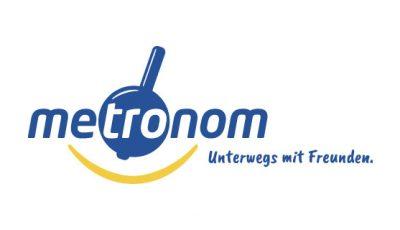 logo vektor metronom