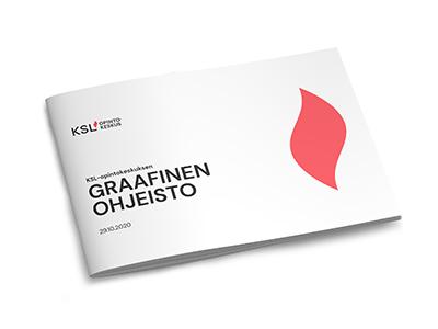 KSL-opintokeskuksen graafinen ohjeisto