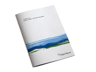 Region Halland grafisk profil